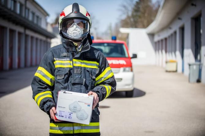 ¿Cuál es el trabajo de los bomberos durante la crisis del coronavirus?