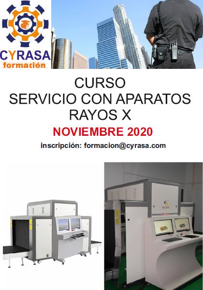 Curso de Rayos X para vigilantes en Cyrasa Seguridad