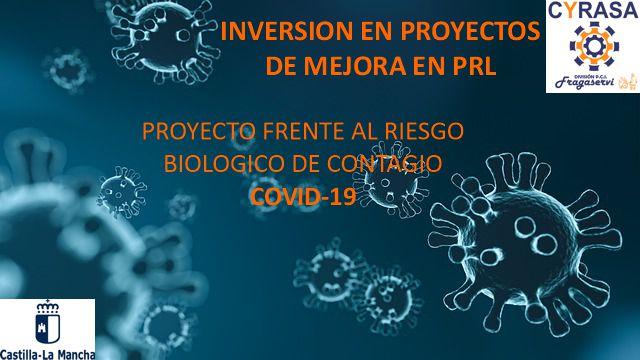 Cyrasa Seguridad ha sido beneficiaria de una subvención para proyectos frente al riesgo biológico de contagio por COVID-19