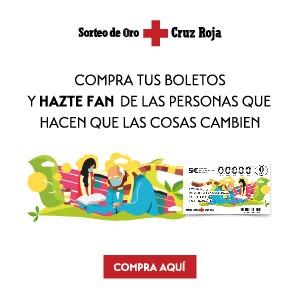 Cruz Roja inicia en noviembre la campaña de venta de lotería del Sorteo de Oro
