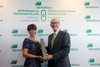 Iberdrola  galardona a Cyrasa Seguridad en los Premios al Proveedor del Año en España