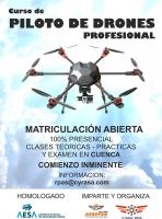 Cyrasa Seguridad impartirá una nueva edición del curso de piloto avanzado de drones