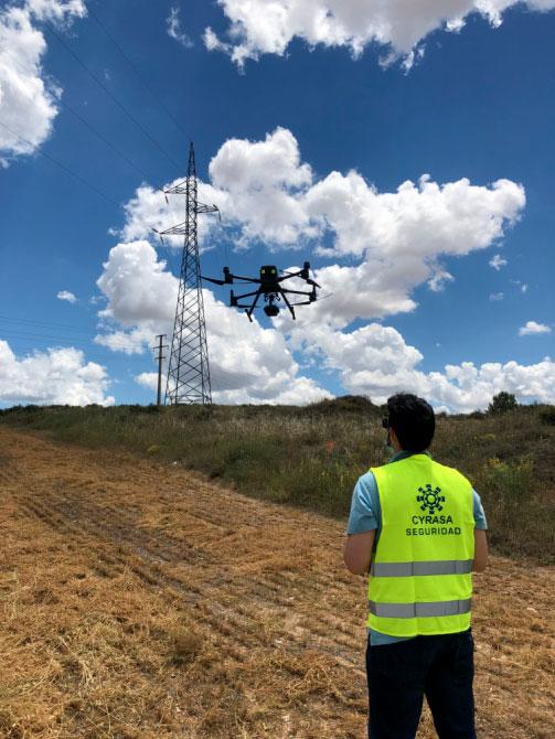 Nuevos servicios de UAS/drones en Cyrasa