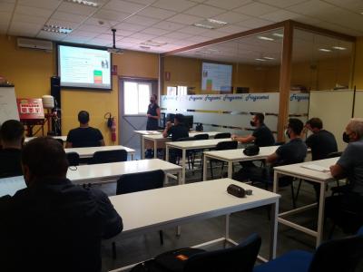 Cyrasa imparte un curso de prevención de riesgos laborales en espacios confinados