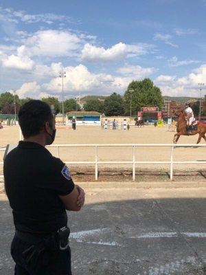 Cyrasa veló por la seguridad de la ciudadanía en la Feria de Artesanía y la Hípica de Cuenca