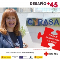 Cyrasa se suma a la campaña #DesafíoMás45, una iniciativa que quiere poner en valor la importancia en el mercado laboral de las personas mayores de 45 años