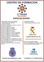 Las especialidades del centro de formación de Cyrasa
