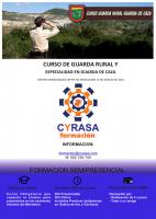 Curso de guarda rural y especialidad en guarda de caza en Cyrasa