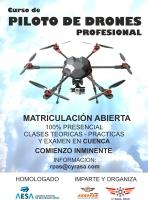 Apúntate ya al curso de drones profesional