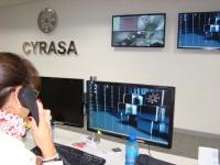 Galardonado el Gerente de la Empresa Cyrasa Seguridad, Mariano Francisco de Marco Fraga, con una Mención Honorifica tipo