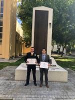 La Dirección General de Policía de Madrid premia el trabajo de Eduardo Torrijos de la Torre y José Santiago Macharal de la Fuente
