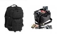 La comodidad de una bolsa táctica para transportar material de seguridad