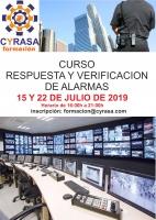 Cyrasa Seguridad impartirá un curso de Respuesta y Verificación de Alarmas
