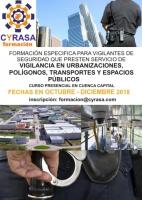 Cursos sobre seguridad y vigilancia en Cyrasa