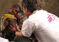 Campaña con Médicos Sin Fronteras