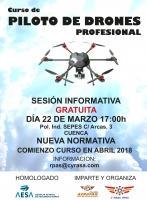 Sesión informativa gratuita sobre nuestro curso de drones