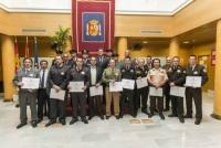 El gerente de Cyrasa Seguridad es galardonado con una mención honorifica