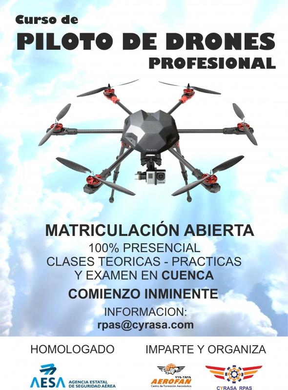 Ap�ntate ya al curso de drones profesional