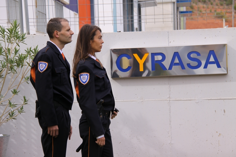 Qu� armas puede portar un vigilante de seguridad