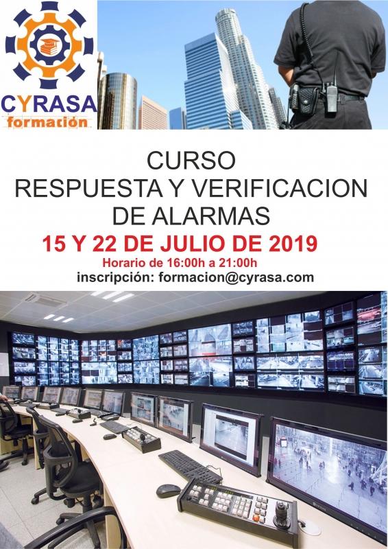 Cyrasa Seguridad impartir� un curso de Respuesta y Verificaci�n de Alarmas