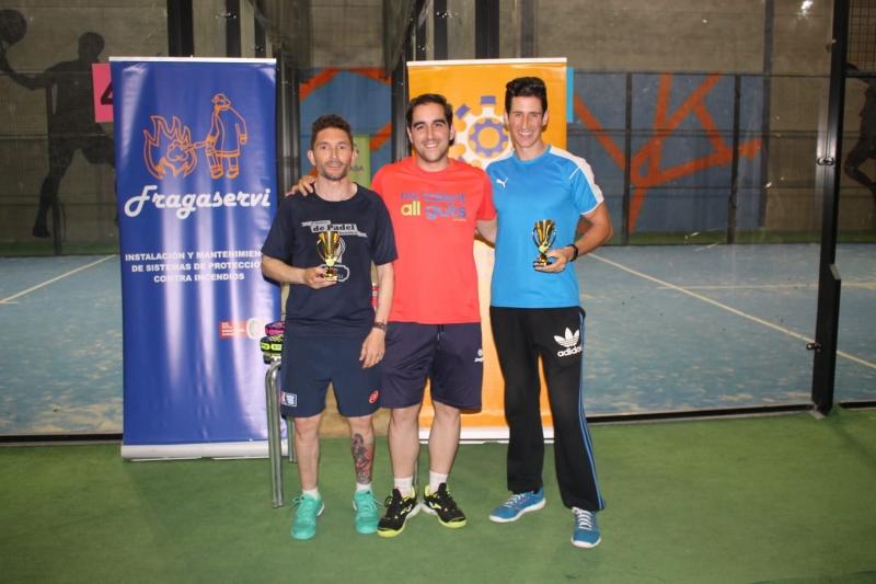 Gran ambiente en el V Torneo de Pádel de Cyrasa Seguridad, In memoriam de D. Mariano de Marco.