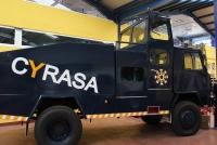 Cyrasa abre las puertas de sus instalaciones para mostrar su amplio abanico de medios en materia de seguridad